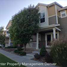Rental info for 11959 Riverstone Cir Unit C in the Commerce City area