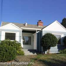 Rental info for 4426 NE 38th Avenue in the Beaumont-Wilshire area