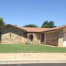 Rental info for 7016 Vicksburg Avenue in the Lubbock area