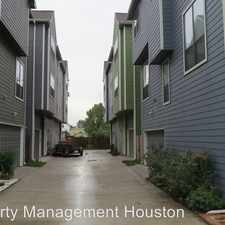 Rental info for 914 W. 19th St. #D in the Houston area