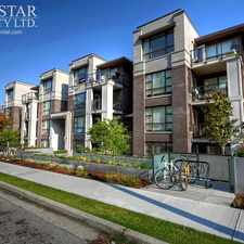 Rental info for 3839 West 4th Avenue #301 in the West Point Grey area