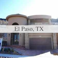 Rental info for El Paso - 4bd/3bth 4,880sqft House For Rent. 2 ... in the Mission Hills South area
