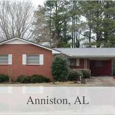 Rental info for House For Rent In Anniston. Washer/Dryer Hookups!