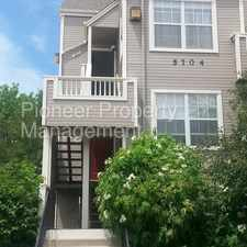 Rental info for Spacious 2 Bedroom Located in a Great Area!! in the Harvey Park area