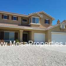 Rental info for Gorgeous 3 bedroom, 2.5 bathroom home in Victorville!