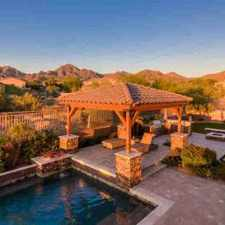 Rental info for 10870 E MEADOWHILL Drive Scottsdale Five BR, Spectacular Home in the Scottsdale area