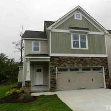 Rental info for 45 Labradoodle Court Garner Three BR, NEW CONSTRUCTION TOWN HOME in the Garner area
