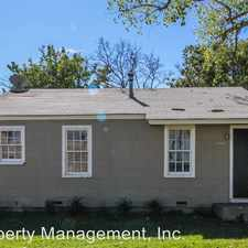 Rental info for 2711 35th Street in the Lubbock area