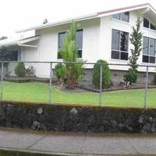 Rental info for Fenced In Corner Lot in the Hilo area