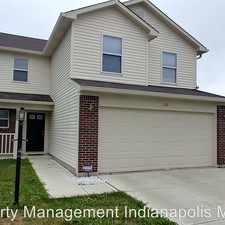 Rental info for 205 Harts Ford Way in the Brownsburg area