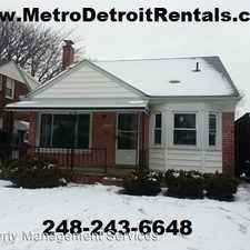 Rental info for 16767 Lincoln Ave
