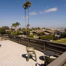 Rental info for 880 ROSECRANS ST. in the Wooded Area area