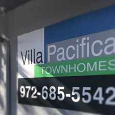 Rental info for Villa Pacifica Townhomes in the Buckner Terrace area