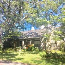 Rental info for Gorgeous 4 bedroom 2.5 bath home in South Tampa!!! in the Ballast Point area