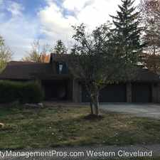 Rental info for 16835 Willow Wood Dr in the Strongsville area