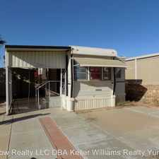 Rental info for 10308 E. 29th Ln in the Fortuna Foothills area