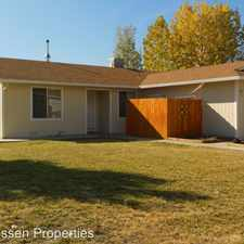 Rental info for 750 Cameron Way in the Susanville area
