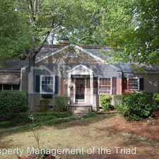 Rental info for 1814 Independence Rd in the Greensboro area