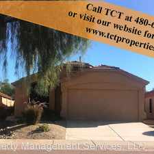 Rental info for 21831 N 48th Pl