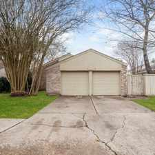 Rental info for Tricon American Homes in the Houston area