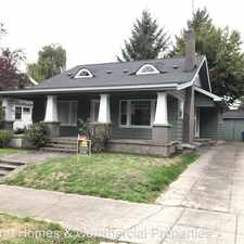 Rental info for 4905 SE Caruthers Street in the Richmond area