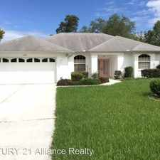 Rental info for 11301 Timbercrest Road in the 34608 area