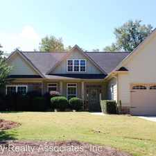 Rental info for 112 Coldwater Lane in the Griffin area