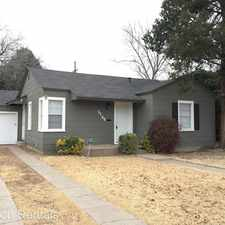 Rental info for 3106 29th St in the Lubbock area