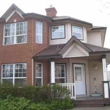 Rental info for Georgian Style Home in Terwillegar in the Anthony Henday Terwillegar area