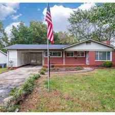 Rental info for 4009 Seaforth Drive Charlotte Three BR, brick home in the middle