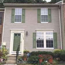 Rental info for 7809 Foxcove CT Glen Burnie Three BR, nice 3 level townhome with