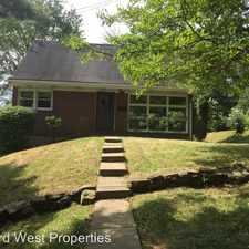 Rental info for 52 Columbia Road in the Pittsburgh area