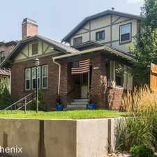 Rental info for 726 S Corona St in the Washington Park West area