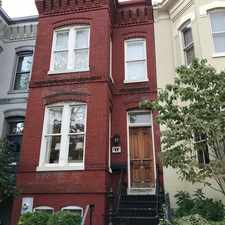 Rental info for 213 A. St. NE in the Washington D.C. area