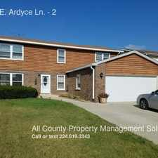 Rental info for 1200 E. Ardyce Ln. in the Des Plaines area