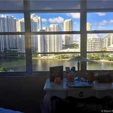 Rental info for 801 Brickell Avenue #1661 in the Downtown area