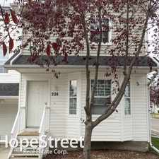 Rental info for 228 Prestwick Acres Lane SE - 2 Bedroom Townhome for Rent in the Mckenzie Towne area