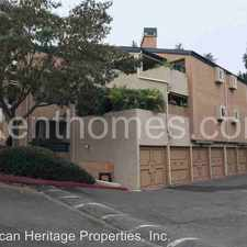 Rental info for 9775-99 Mesa Springs Way in the Scripps Ranch area
