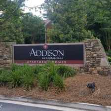 Rental info for Addison on Cobblestone