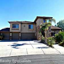Rental info for 9805 W Jasmine Trail