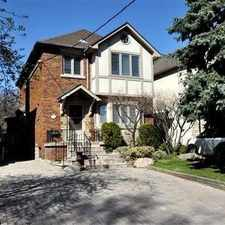 Rental info for 150 Donegall Drive in the Leaside-Bennington area