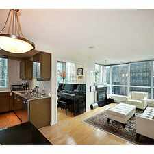 Rental info for 1328 West Pender Street in the West End area