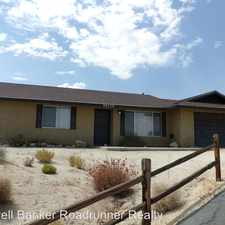 Rental info for 56920 San Rafael Ct. in the Yucca Valley area