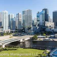 Rental info for 90 SW 3rd ST 2202 in the Downtown area