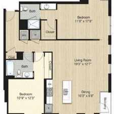 Rental info for $8700 2 bedroom Apartment in Bloomingdale in the Downtown-Penn Quarter-Chinatown area