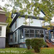 Rental info for 917 Lancaster Ave. in the Syracuse area