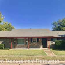 Rental info for 1405 Boyd St in the 73071 area