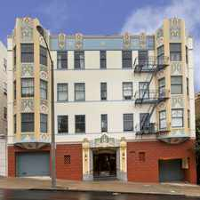 Rental info for 915 PIERCE Apartments in the Western Addition area