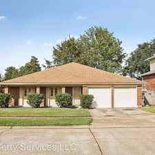 Rental info for 1545 Spanish Oaks Dr in the New Orleans area