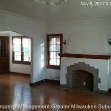 Rental info for 2616-18 N 60th Street in the Wauwatosa area